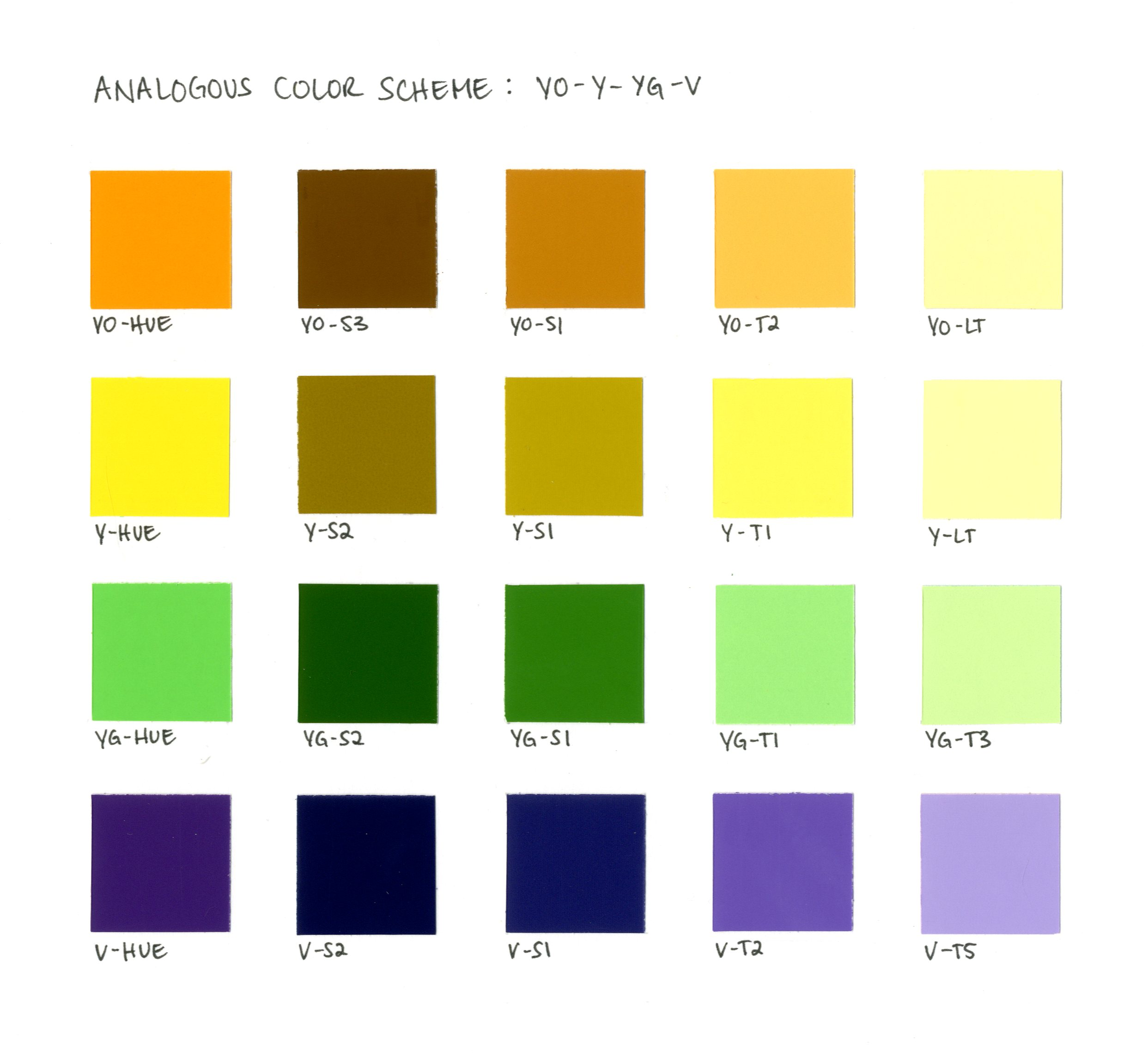 analogous color combinations driverlayer search engine. Black Bedroom Furniture Sets. Home Design Ideas